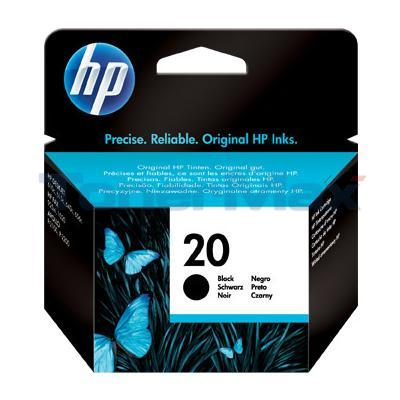 HP NO 20 INKJET PRINT CARTRIDGE BLACK